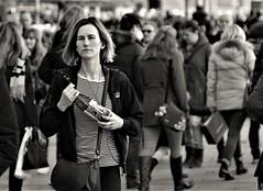 Street (heiko.moser (+ 11.700.000 views )) Tags: sw schwarzweiss street strasse streetart schwarzweis streetfotografie streetportrait streetfoto women woman frau bw blackwhite blancoynegro entdecken einfarbig eyecatch discover teen young youngwoman noiretblanc nb nero menschen monochrom mono people personen publicity person potrait leute canon candid city heikomoser