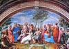 The Parnassus (pefkosmad) Tags: jigsaw puzzle art painting fresco parnassus raphael clementoni museumcollection vatican hobby pastime leisure 1000pieces used complete