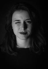 Alice (Luca Vegetti Photography) Tags: set photoset shooting portrait model girl friend gaze funny lights shadows 50mm nikon d600