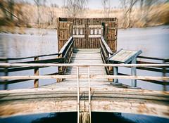 Last Memory (Trippin' all over the place) Tags: winter missouri stcharles water lake pond reflection panasonic lumix gx7 minolta manualfocus manuallens topazlabs pse12 nik distortion distort