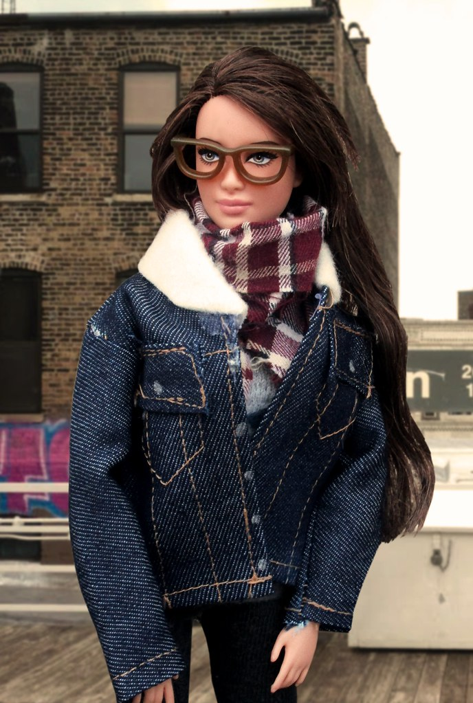 dff7c450191 Winter in the Windy City (Anna Smithson) Tags  katniss barbie hunger games  denim