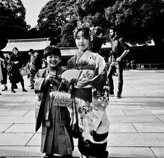 Meiji Shrine (-Faisal Aljunied-) Tags: japan tokyo streetphotography meijijingugaien kimono streetportrait iphone7plus faisalaljunied