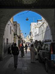 Archway on Rue Sidi Fateh, medina of Rabat, Morocco (Paul McClure DC) Tags: rabat morocco almaghrib jan2017 medina architecture historic