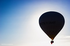 Into the sun (ralphjheromeignacio) Tags: hotairballoon hotairballoonfestival flight ballooneclipse sun intothesun