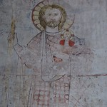 Fresque, église romane St Peter (XIIIe), Bacharach, landkreis Mainz-Bingen, Rhénanie-Palatinat, Allemagne. thumbnail