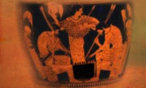 "Petteia - Ludus Latrunculorum  / Iconografía de las civilizaciones helenolatinas • <a style=""font-size:0.8em;"" href=""http://www.flickr.com/photos/30735181@N00/32522195675/"" target=""_blank"">View on Flickr</a>"