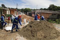 17-01-23- Drenagem na rua javali (seminfmanaus) Tags: amazonas antes manaus obra obras ponte prefeitura ruadapaz seminf