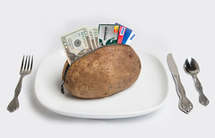 I'll have the Loaded Potato (javajunkies126) Tags: funny money cards credit load loaded baked potato zipper fork knife spoon plate white hot 5d canon l lens 24105 24105f4l love great hilarious lighting learning color awesome creative photoshop adobe lightroom different pun stupid naked sexy imagine imagination time camera think thinking attention detail little things huntington bank mastercard visa michigan state