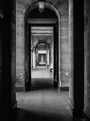 (C-47) Tags: blackwhite blackandwhite noirblanc noiretblanc monochrome corridors dof deep depth silent silence