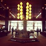 Lobby des Hotels Okura