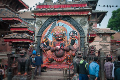 Kala Bhairab (seb.grd) Tags: nepal vacances kathmandu np npal centralregion