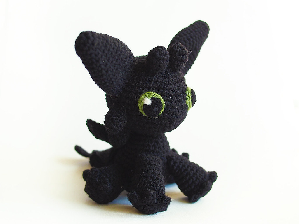 Amigurumi Toothless : The world s best photos of toothless and toy flickr hive mind