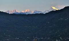 Sunrise at Gangtok. (draskd) Tags: landscape himalayas sikkim mountainscape gangtok kanchenjunga mtkanchenjunga kanchenjungarange kanchenjungasunrise gangtoksunrise sunriseoverkanchenjunga