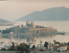 Bodrum Castle (redchillihead) Tags: warren smart greece turkey 1989 bodrum castle 1980s oe kiwi traveller