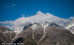 Kalpa 4 (travelling slacker) Tags: himachalpradesh kinnaur kalpa shivling kinnaurkailash reckongpeo