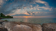Ultra wide sky (_Matt_T_) Tags: dusk k5iis lakeontario murraystreetpark nikhdrefexpro2 pentax smcpda1224mmf40edalif wideangle