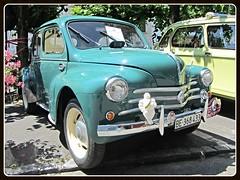 Renault 4CV 1953 (v8dub) Tags: auto old classic car french schweiz switzerland automobile suisse 4 automotive voiture renault le oldtimer oldcar cv collector 1953 wagen pkw klassik landeron worldcars