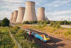East Midlands Trains Class 43 43060 & 43061 (Barry Duffin) Tags: nottingham sky clouds train landscape photography nikon diesel bobo rail railway loco bluesky trains locomotive dslr stpancras emt hst brel class43 43061 43060 d3000 eastmidlandsparkway 1b73