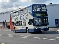 18016 - SF53 BYO (Cammies Transport Photography) Tags: road park 2 bus coach fife via alexander dennis stagecoach queensferry trident rosyth in byo halbeath 18016 sf53byo duloch sf53 pampr