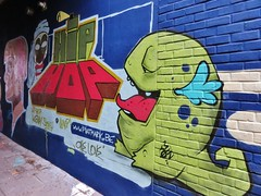 Phat Mark / Werregarenstraatje - 13 juli 2015 (Ferdinand 'Ferre' Feys) Tags: streetart graffiti belgium belgique belgië urbanart graff ghent gent gand graffitiart arteurbano artdelarue urbanarte phatmark