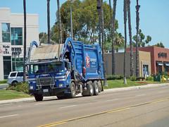 Republic Services Garbage Truck 8-4-15 (Photo Nut 2011) Tags: california trash truck garbage junk sandiego miramesa waste refuse sanitation garbagetruck trashtruck wastedisposal republicservices