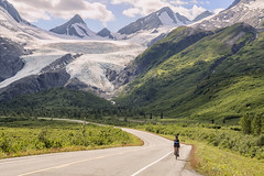 (​eyebex) Tags: bicycle alaska t bicycling cycling cyclist tammy rider tee 73 worthingtonglacier cool7 uncool3 iceboxcool