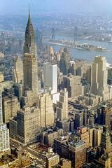 Midtown East, Welfare Island and Queens prior 1956 (Strykapose) Tags: newyorkcity scans slide parkave eastriver kodachrome chryslerbuilding longislandcity oldnyc epsonv700 welfareisland queesnborobridge strykapose midtowneastwelfareislandandqueensprior1956