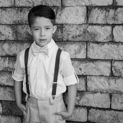 Gabriel (lfbc) Tags: boy portrait haircut fashion 35mm outdoors nikon retrato handsome naturallight 18 nio moo tirantes d5100