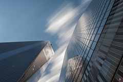 1 & 7 World Trade Center, New York, NY (ceeenbee) Tags: longexposure newyork architecture nd 7worldtradecenter 1worldtradecenter