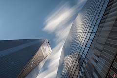 1 & 7 World Trade Center, New York, NY (ceeenbee) Tags: longexposure newyork architecture nd 7worldtradecenter 1worldtradecenter