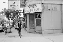 Daniel's (geowelch) Tags: street urban toronto blackwhite chinatown rangefinder 35mmfilm xp2super400 honeywellvisimatic615 streetlevelphoto plustekopticfilm7400