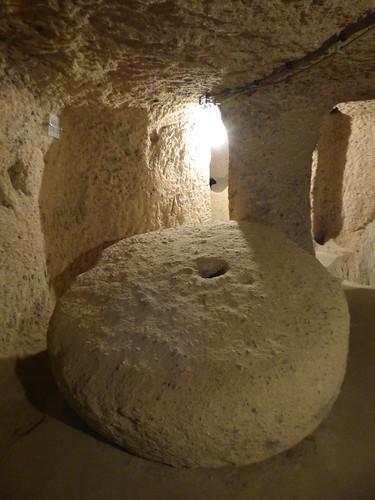 Kaymakli - underground city - millstone barrier