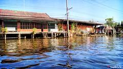 On the way to Damnoen Saduak Floating Market (Ld\/) Tags: damnoen saduak floating market thailande thailand bangkok travel trip march flottant flotant typique historic place old life thai amphawa