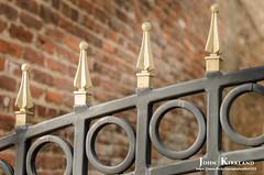 Augusta Iron (KIRK333) Tags: adobe iron lightroom on1 ornamental photoshop topaz augusta ga georgia downtown gate