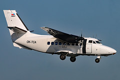 OK-TCA (GH@BHD) Tags: oktca let let410 l410 turbolet citywing manx2 vanaireurope bhd egac belfastcityairport turboprop airliner aircraft aviation