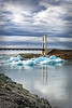 Jokulsarlon - The Bridge (deborahmoynihan) Tags: jökulsárlónglacierlagoon bridge iceland icebergs glacier lagoon water sky clouds reflections travel nikond7200 nikonafs55300mmf4556gedvr 2016 ngc