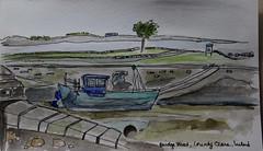 Sketchbook County Clare (cheesemoopsie) Tags: aquarelle watercolor ink croquis sketch countyclare ireland