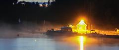 IMG_8137 original-2 (Andre56154) Tags: schweden sweden sverige himmel sky wolke cloud schiff yacht ship boat hafen harbour port nacht night gegenlicht schren archipelago ufer wasser water nebel fog