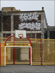 4ce / Enta (Alex Ellison) Tags: northwestlondon urban graffiti graff boobs 4ce force enta rooftop chrome