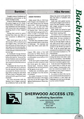 Hibernian vs Clydebank - 1989 - Page 13 (The Sky Strikers) Tags: hibernian hibs clydebank skol cup road to hampden easter matchday magazine one pound