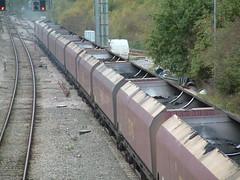 HTA 051115 (2) (Transrail) Tags: hta bogie hopper wagon ews didcot coal powerstation