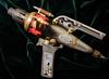 Comet RP7 ray pistol 02 HD jan 17 (Shaun the grime lover) Tags: hdr steampunk weapon raygun ray gun pistol sidearm scifi science fiction metal aluminium aluminum brass steel