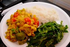 ASCF3395 (Lucas Falcão) Tags: vegan chickpea curry kale tahine cauliflower tomatoes