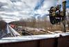 US&S Sentinel (Wheelnrail) Tags: ns norfolk southern locomotive emd ge railroad train trains pennsylvania pittsburgh line pitt prr cpl pl signals rail road portage lilly cold winter