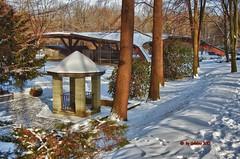 Winter im Kurpark...Winter in the park (kh goldphoto) Tags: 2013 badlausick deutschland sachsen kurpark kurstadt freilichtbühne best panoramio138237085837099 schmetterlingsbühne brunnenhaus