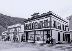 Skagway AK ~ Main Street (karma (Karen)) Tags: skagway alaska mainstreet buildings walls windows hww topf25 cmwd