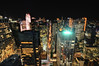 Midtown Manhattan at Night, New York City (itscashtro) Tags: sonybuilding midtown longexposure night 53rdst lexingtonave 601lexingtonave rockefellercenter skyline cityscape rooftop roof nyc city newyork blendedexposures photomatix nikoncapturenx nikond90