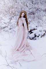 Frozen Flower (AyuAna) Tags: bjd ball jointed doll dollfie ayuana design handmade ooak clothing clothes dress set fantasy medieval style sadol yena whiteskin love60 body