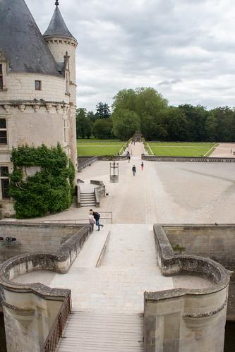 Entrée du Château de Chenonceau
