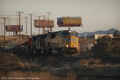 UP 4164 west near Beaumont, CA (Travis Berryman) Tags: unionpacific beaumonthill uprr upyumasub desertrailroading